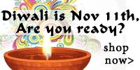 Diwali is Nov 11th, 2015!