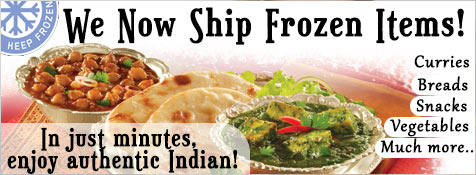 Buy Indian Frozen Foods at iShopIndian.com!
