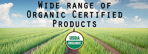 We offer a wide Range of Organic Certified Indian Groceries and Spices