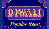 Diwali is Nov 4th - Popular Items