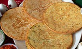 Khakhara (wheat crisps)