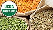 Organic Dals - Lentils & Beans