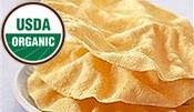 Organic Papad - Lentil Wafers