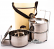 Insulated Tiffin (Food Carrier) - 3 Tier - 3