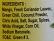 Nirav Mango Chutney (Green) - Ingredients