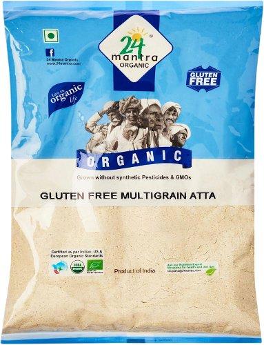 24 Mantra Organic Gluten Free Multigrain Atta (Flour) - 1.1 LBS