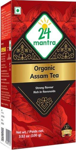 24 Mantra Organic Assam Tea - 3.5 oz