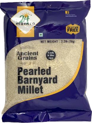 24 Mantra Ancient Grains Pearled Barnyard Millet - 2.2 lbs