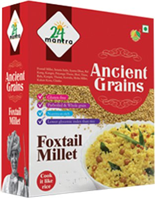 24 Mantra Ancient Grains Pearled Foxtail Millet - 2.2 lbs