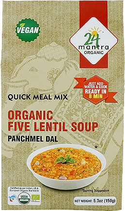 24 Mantra Organic Five Lentil Soup Mix - Panchmel Dal