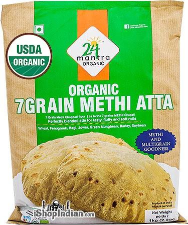 24 Mantra Organic 7 Grain Methi Atta / Flour
