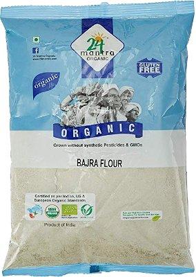 24 Mantra Organic Bajra (Pearl Millet) Flour