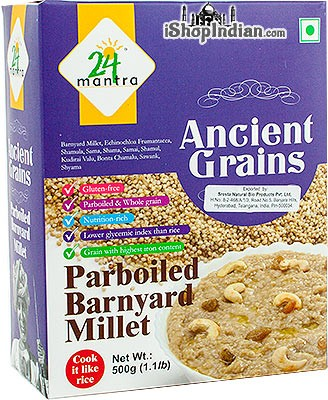 24 Mantra Ancient Grains Hulled Barnyard Millet