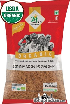 24 Mantra Organic Cinnamon Powder