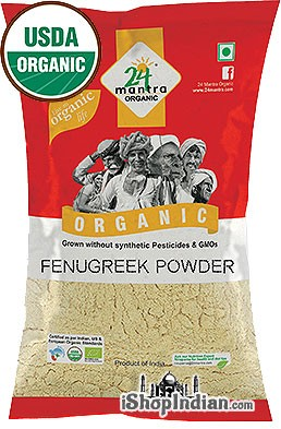 24 Mantra Organic Fenugreek Powder