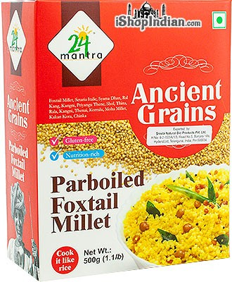 24 Mantra Ancient Grains Hulled Foxtail Millet