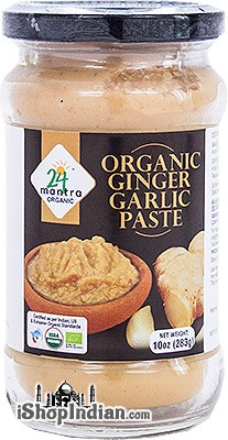 24 Mantra Organic Ginger-Garlic Paste