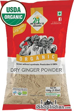24 Mantra Organic Ginger Powder