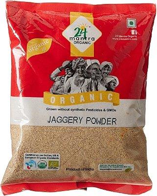 24 Mantra Organic Jaggery Powder- 2 lbs