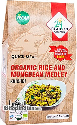 24 Mantra Organic Rice and Mungbean Medley Mix - Khichdi - Quick Meal