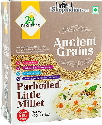 24 Mantra Ancient Grains Pearled Little Millet