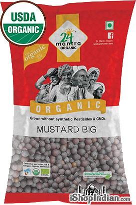 24 Mantra Organic Mustard Seeds (Big)