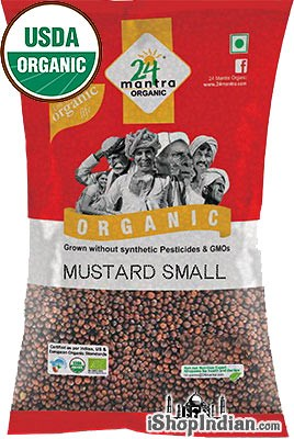 24 Mantra Organic Mustard Seeds (Small)