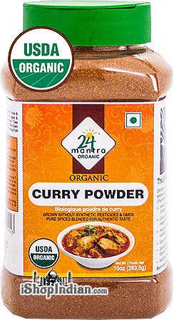 24 Mantra Organic Curry Powder - 10 oz Jar