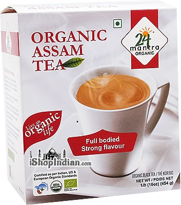 24 Mantra Organic Assam Tea - 16 oz