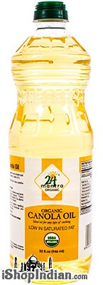 24 Mantra Organic Canola Oil - 32 oz