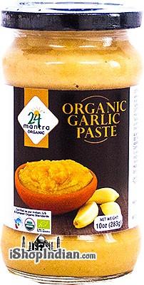 24 Mantra Organic Garlic Paste