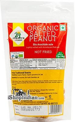 24 Mantra Organic Salted Peanuts
