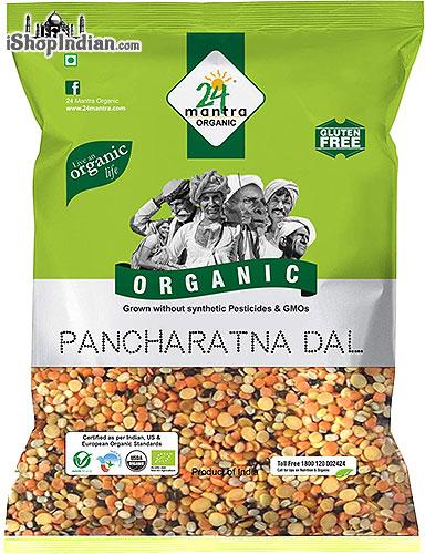 24 Mantra Organic Mixed Lentils / Pancharatna Dal