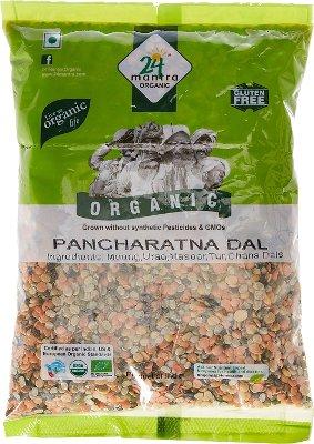 24 Mantra Organic Mixed Lentils / Pancharatna Dal - 2 lbs