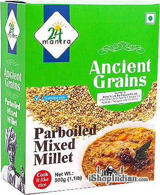 24 Mantra Ancient Grains Pearled Mixed Millet