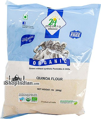 24 Mantra Organic Quinoa Flour - 1 lb
