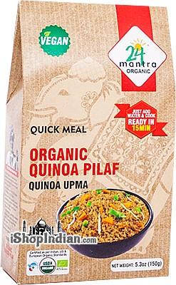 24 Mantra Organic Quinoa Pilaf - Upma - Quick Meal