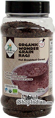 24 Mantra Organic Wonder Grain Ragi - Hot Breakfast Cereal