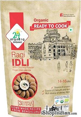 24 Mantra Organic Ragi Idli Mix