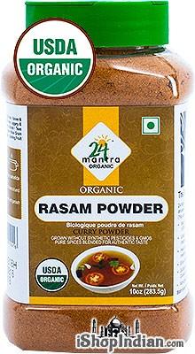 24 Mantra Organic Rasam Powder - 10 oz jar