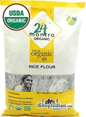 24 Mantra Organic Rice Flour - 4 lbs