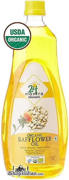 24 Mantra Organic Safflower Oil - 1 liter