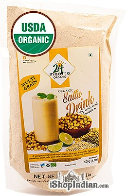 24 Mantra Organic Sattu Drink Mix - Multi Grain