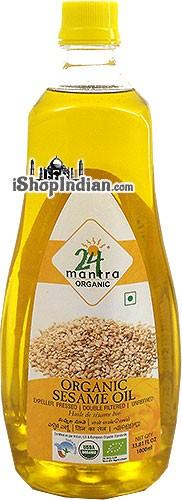 24 Mantra Organic Sesame Oil - 1 liter