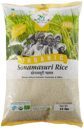 24 Mantra Organic Sona Masuri Rice - White - Polished
