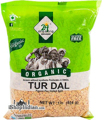 24 Mantra Organic Toor Dal - 1 lb