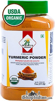 24 Mantra Organic Turmeric Powder - 11 oz jar