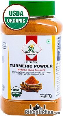 24 Mantra Organic Turmeric Powder - 11 oz jar