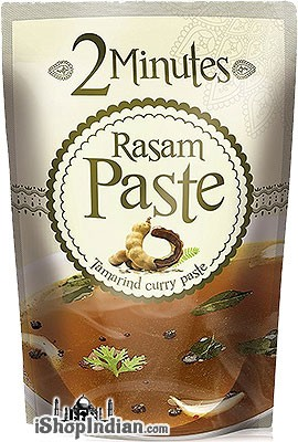 2 Minutes Rasam Paste - Tamarind Rasam