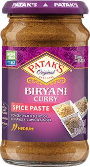 Patak's Biryani Curry Paste (Medium)